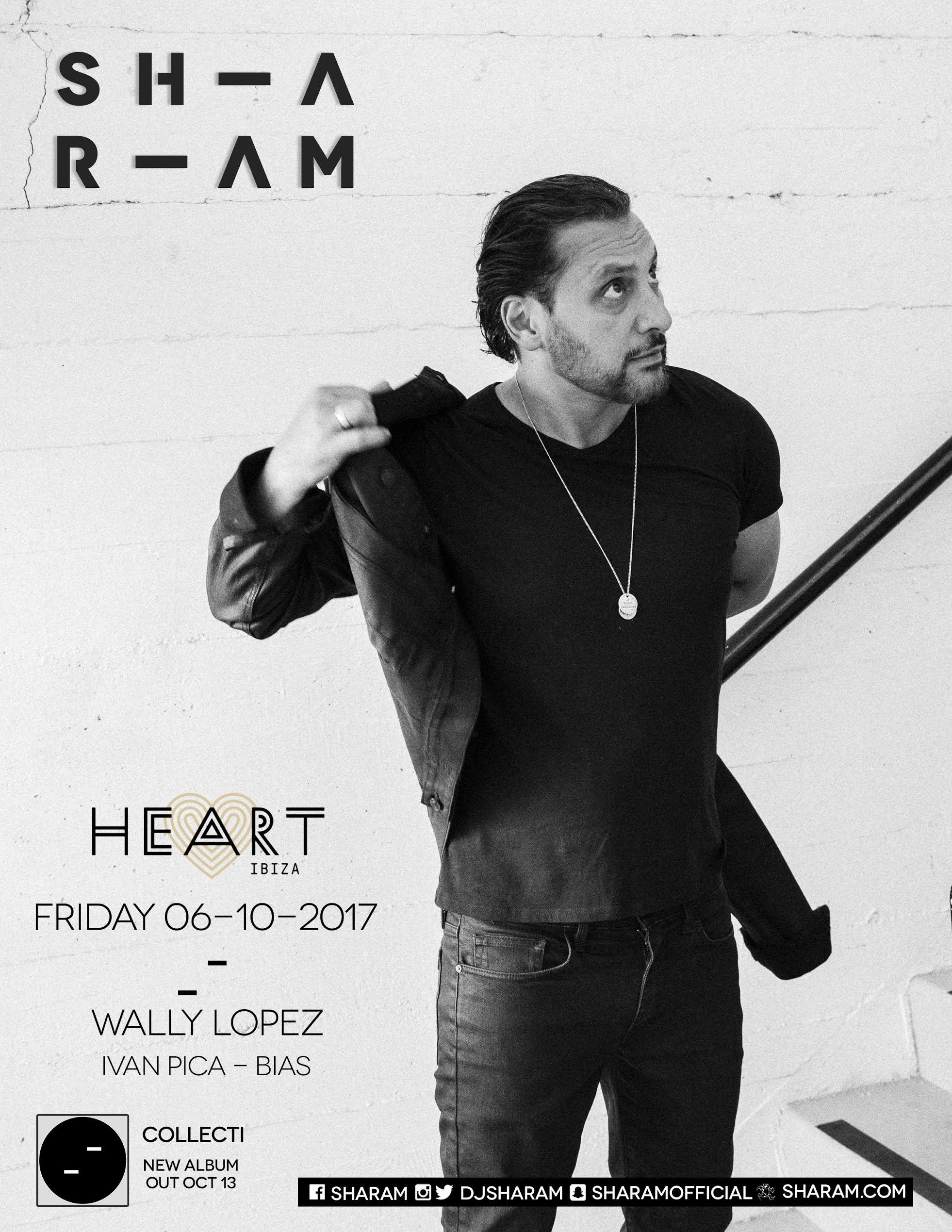 Sharamclosing  Sharam (Deep Dish) en el cierre de Heart Beat Ibiza 2017 Sharamclosing