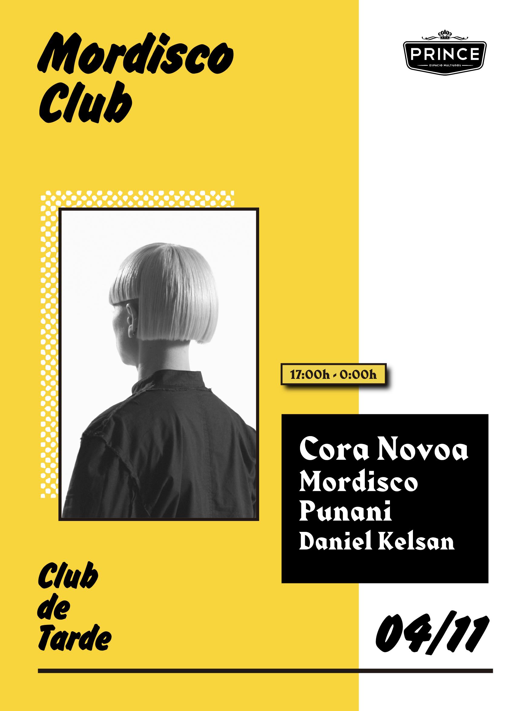 Cora Novoa en la inauguración de la nueva temporada de Mordisco Club POSTER MORDISCO4NOV ONLINE 01