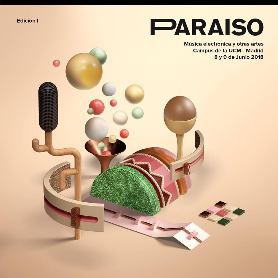 Jose Morán regresa al festivaleo -en este caso electrónico- con Paraíso