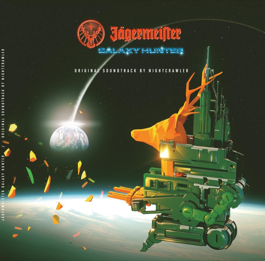 Jägermusic edita en vinilo la banda sonora del proyecto de arcade Jägermeister Galaxy Hunter 66314 A 1