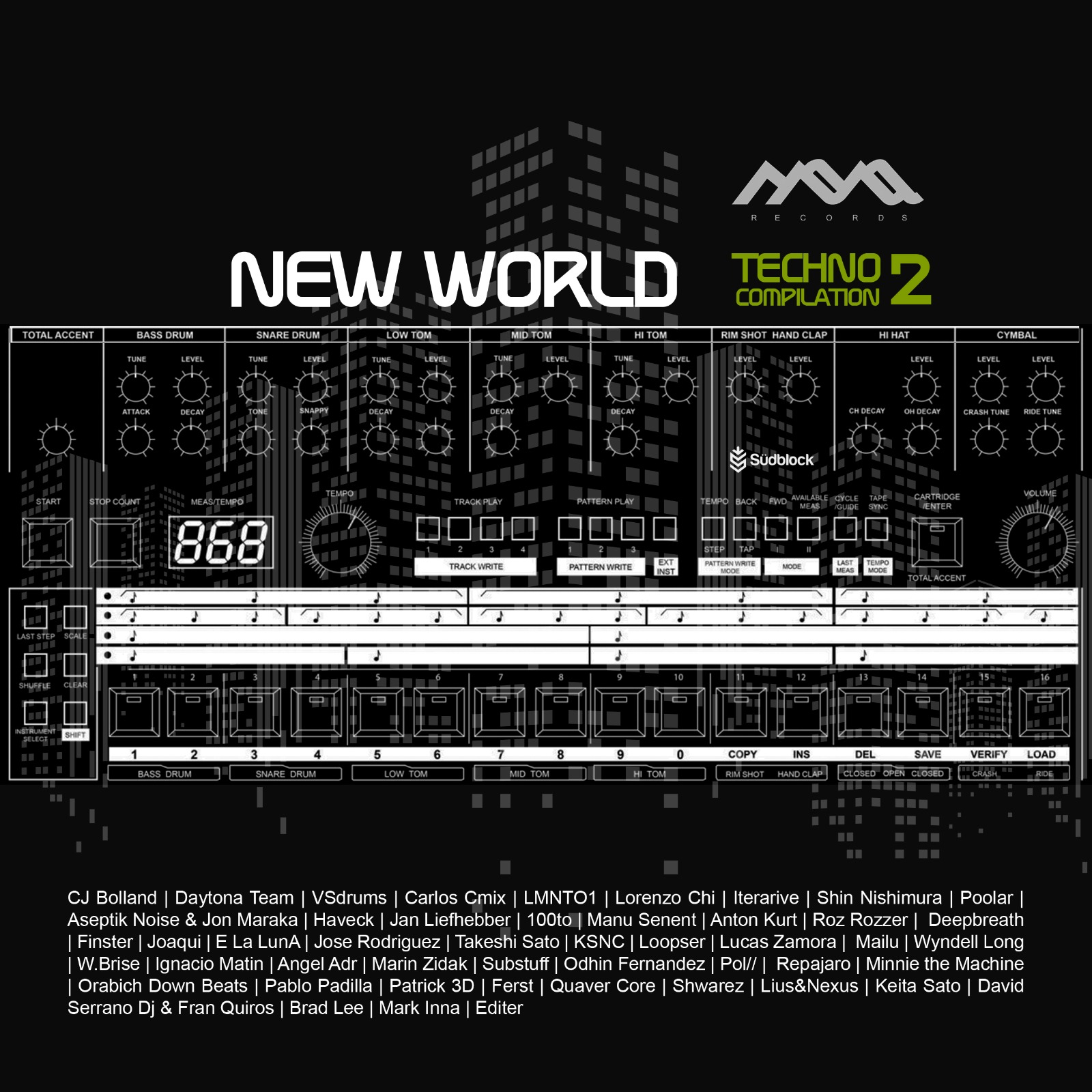 Mona Records presenta 'New World Techno Vol.2 Compilation' d01cdfe6 7c3e 4dec 94db 8978f9e5f8d3